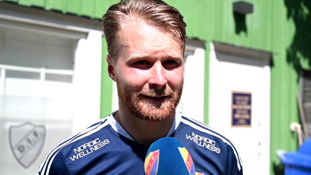 Une Larsson och Eriksson inför DIF-Örebro