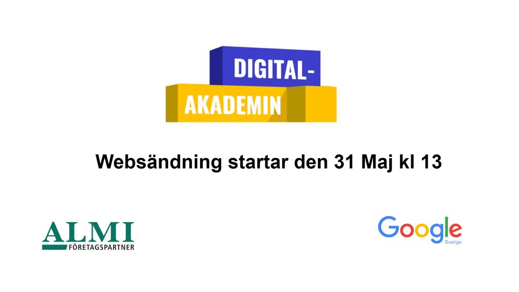 Digitalakademin, kick.-off