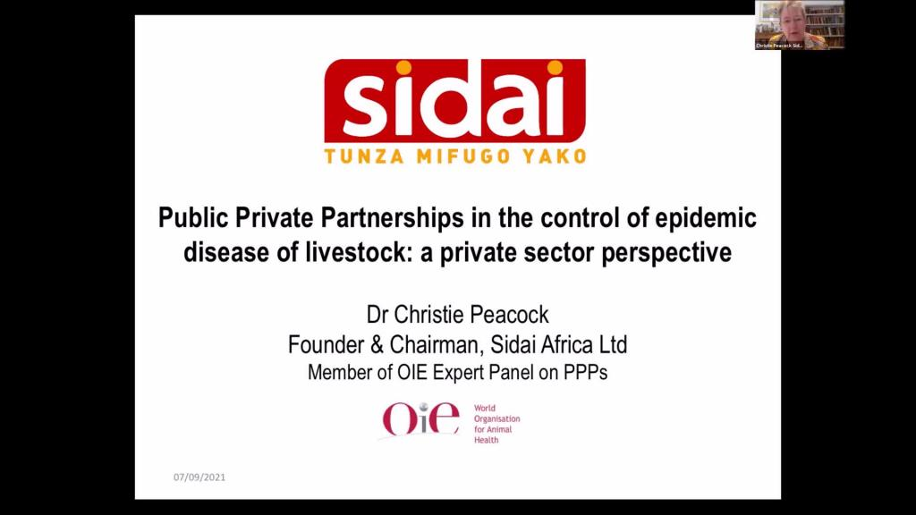 Christie Peacock - Public/Private Partnerships in the Control of Epidemic Diseases of Livestock
