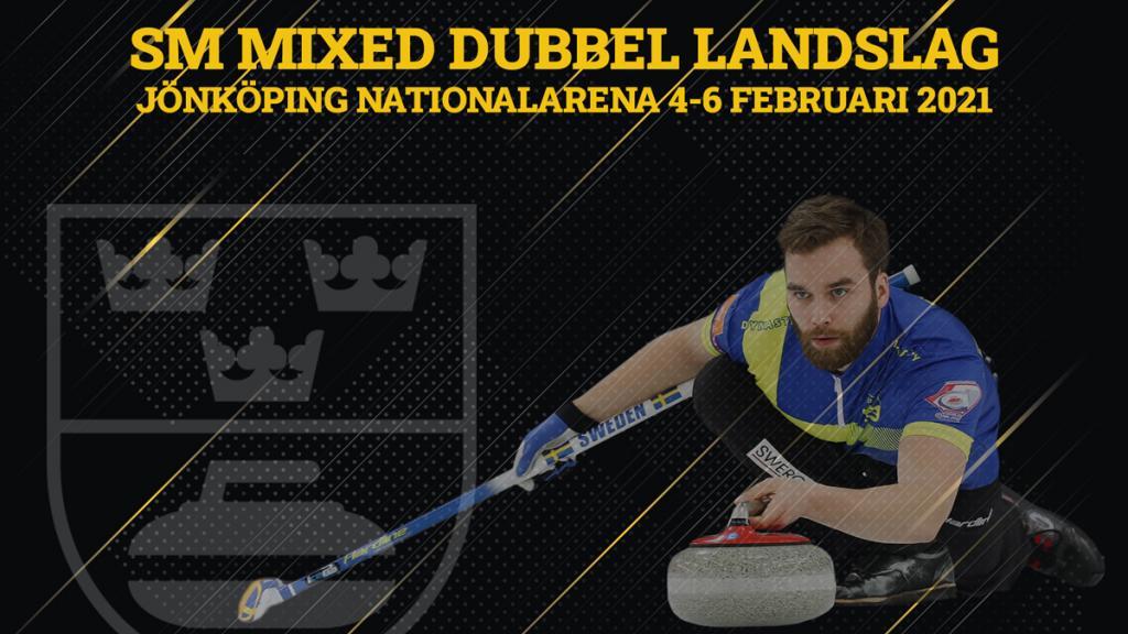 SM mixed dubbel landslag 4-6 februari 2021
