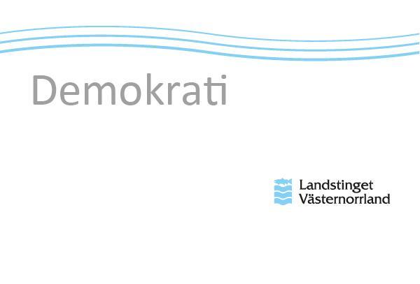 30 November 2017 Regionfullmäktige