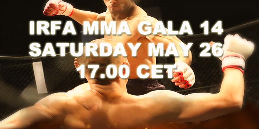 IRFA 14 MMA GALA IFU Arena Uppsala Sweden