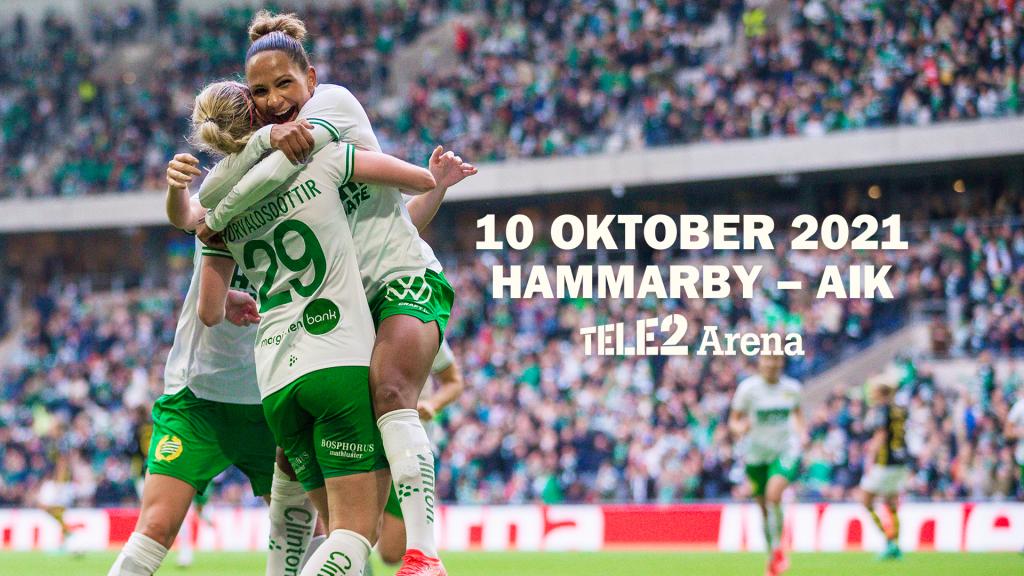 10 oktober 2021 | Hammarby – AIK