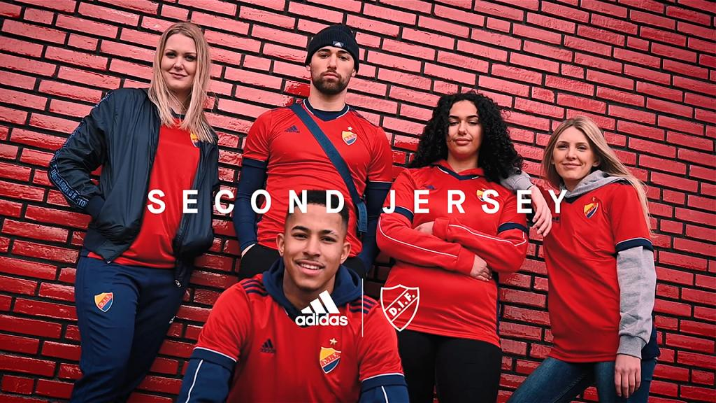 Second Jersey   DIF x adidas