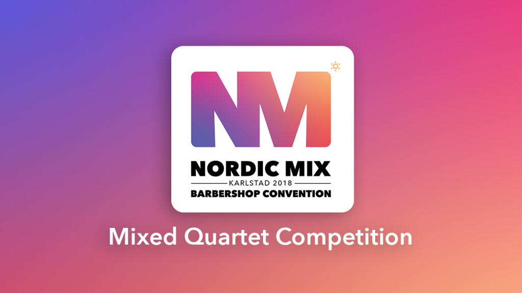 Mixed Quartet Competition