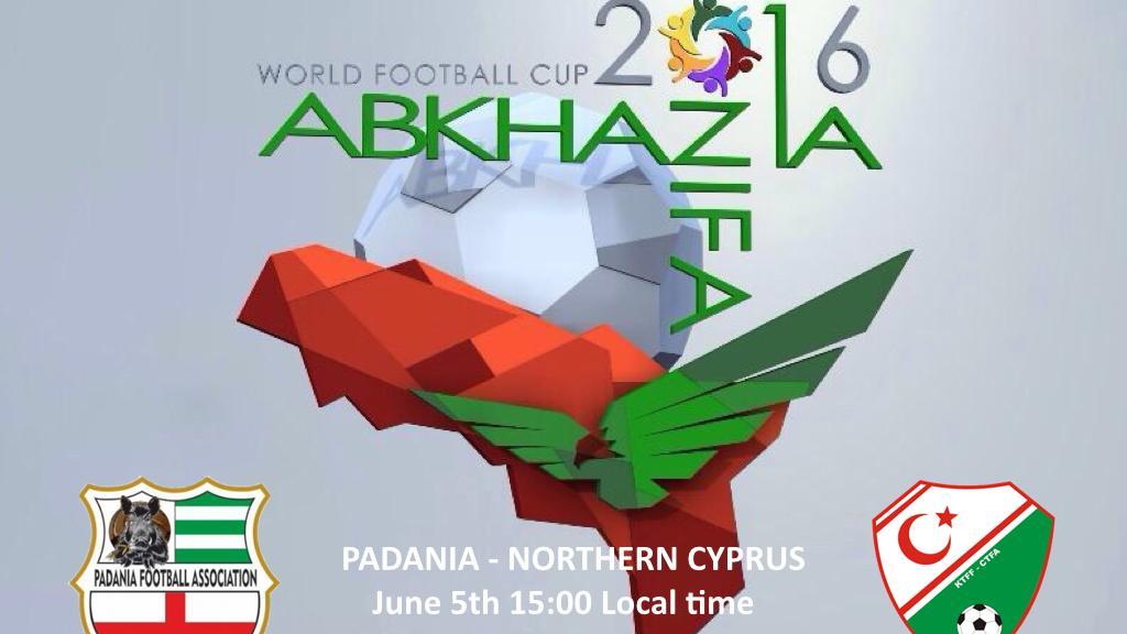 Padania - Northern Cyprus - 5 June 12:00 GMT