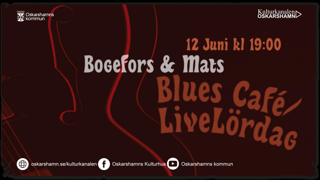 Blues Café/Livelördag