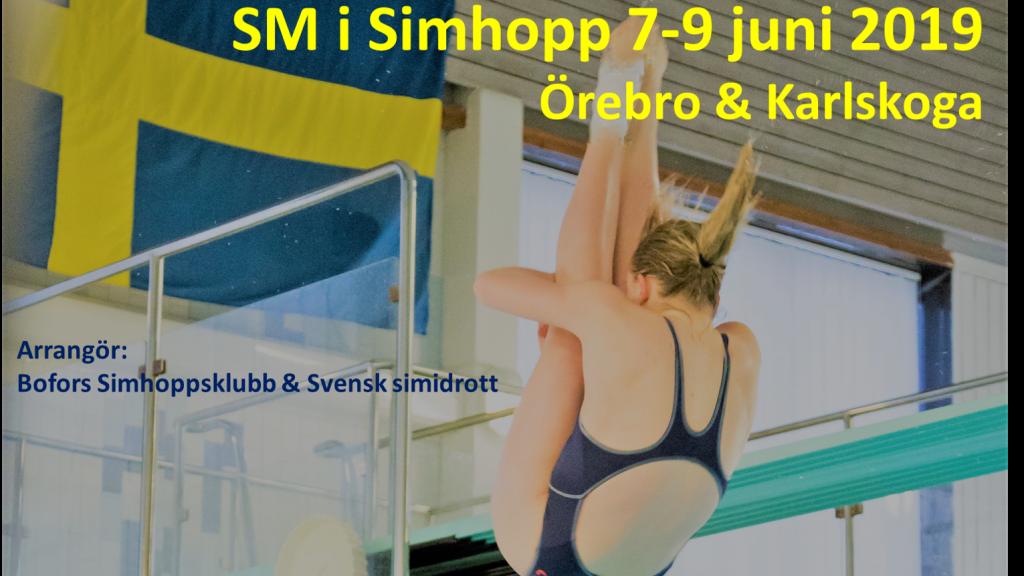 SM i simhopp Finalpass lördagen 8/6 (eftermiddag)