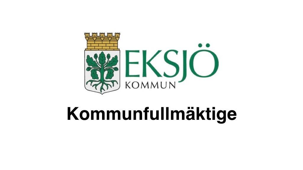 14 juni 2018 Eksjö kommunfullmäktige