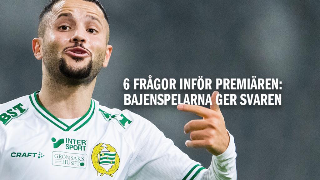 Snart premiär - Bajenspelarna om Allsvenskan