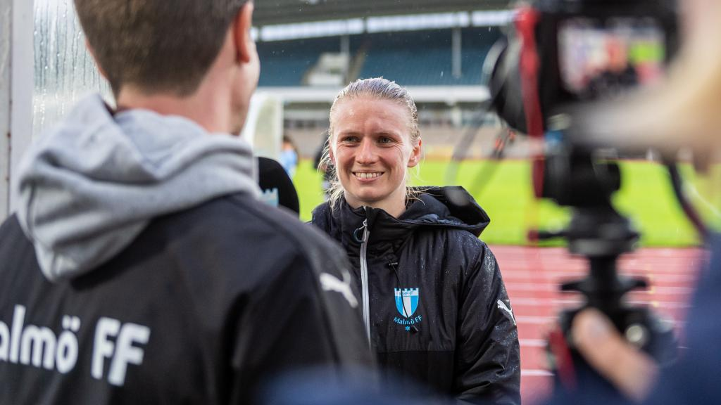 Amanda Kander efter 6–0 mot FC Staffanstorp