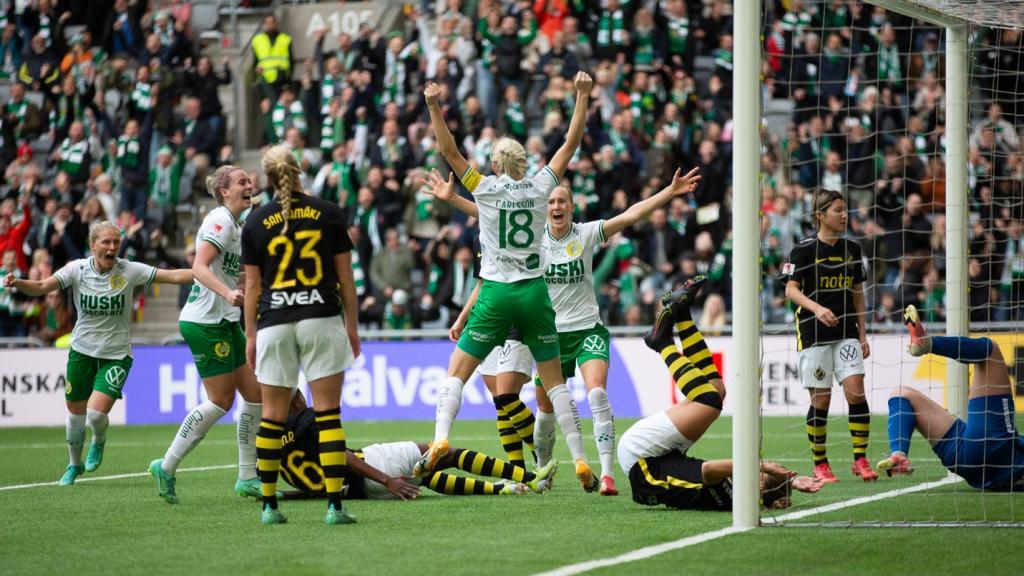 Sammandrag: Hammarby – AIK 4-1 (1-0)
