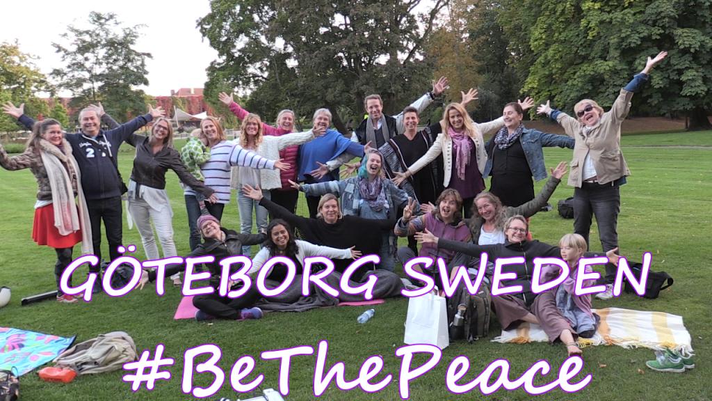 Fredsmeditation från Trädgårdsföreningen Göteborg.