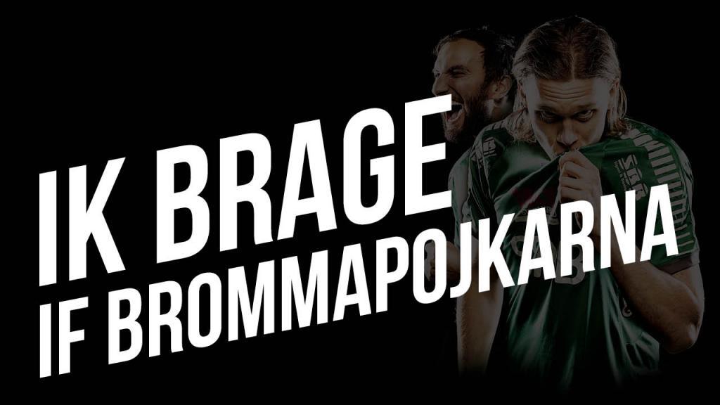IK Brage - IF Brommapojkarna