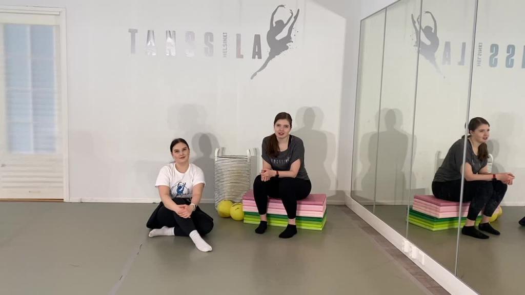 Tuike-tanssitunnin esittelyvideo