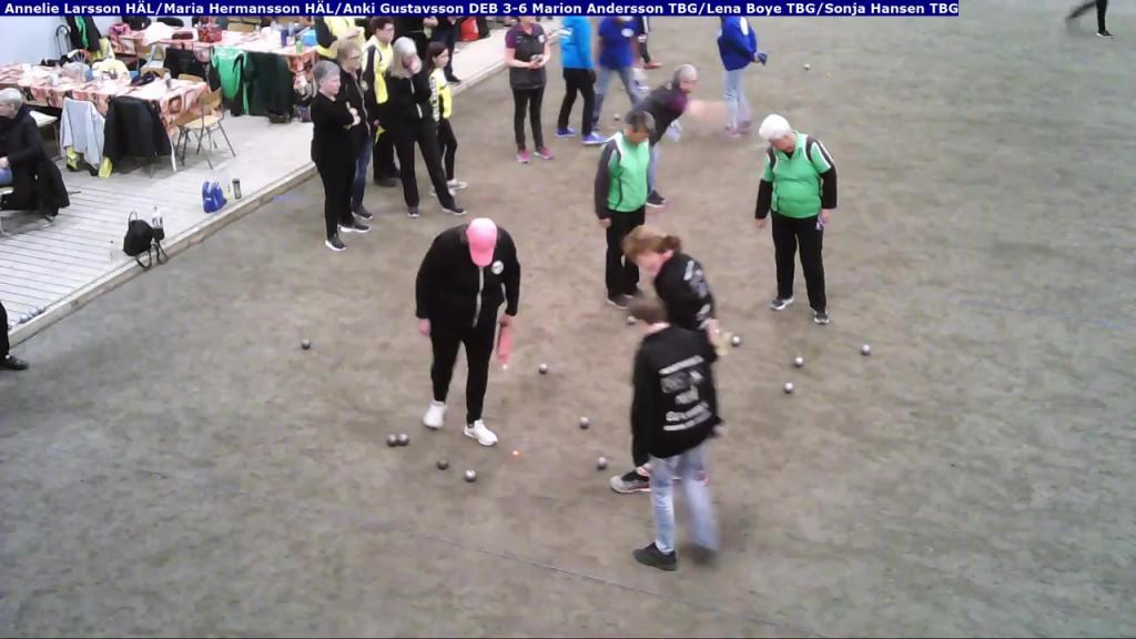 Triss i Damer 2019 - Gruppspel