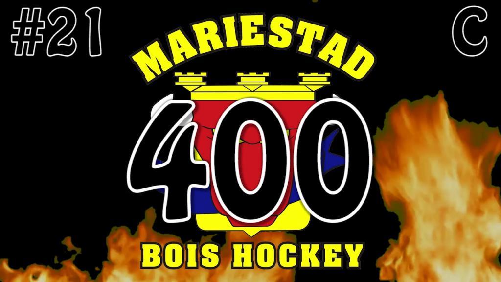 Filip Thörnqvist 400 matcher för Mariestad BoIS