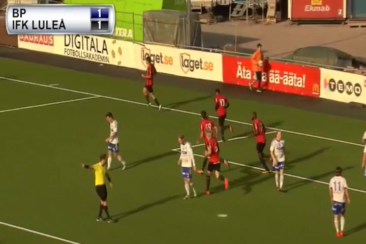 Målen från BP - IFK Luleå