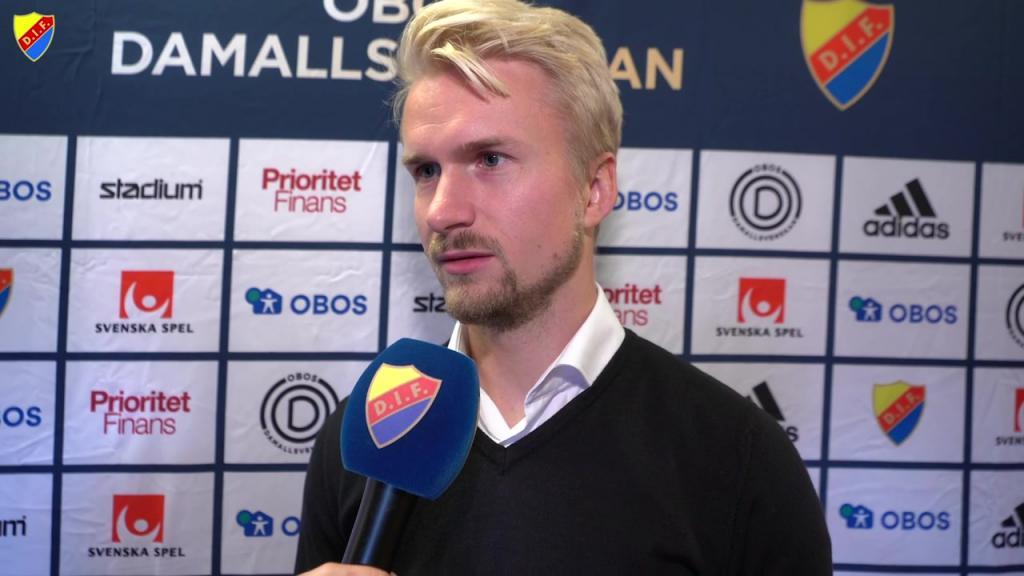 Pierre Fondin efter kryssmatchen mot Limhamn Bunkeflo