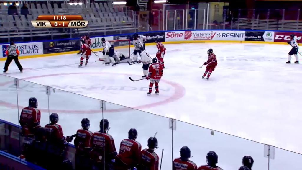 Västerviks IK J18 Mörrums GoIS IK - 16 Dec 13:15 - 16:03