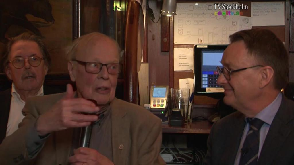 Ett samtal på Wasahof gäst Toivo Sjören