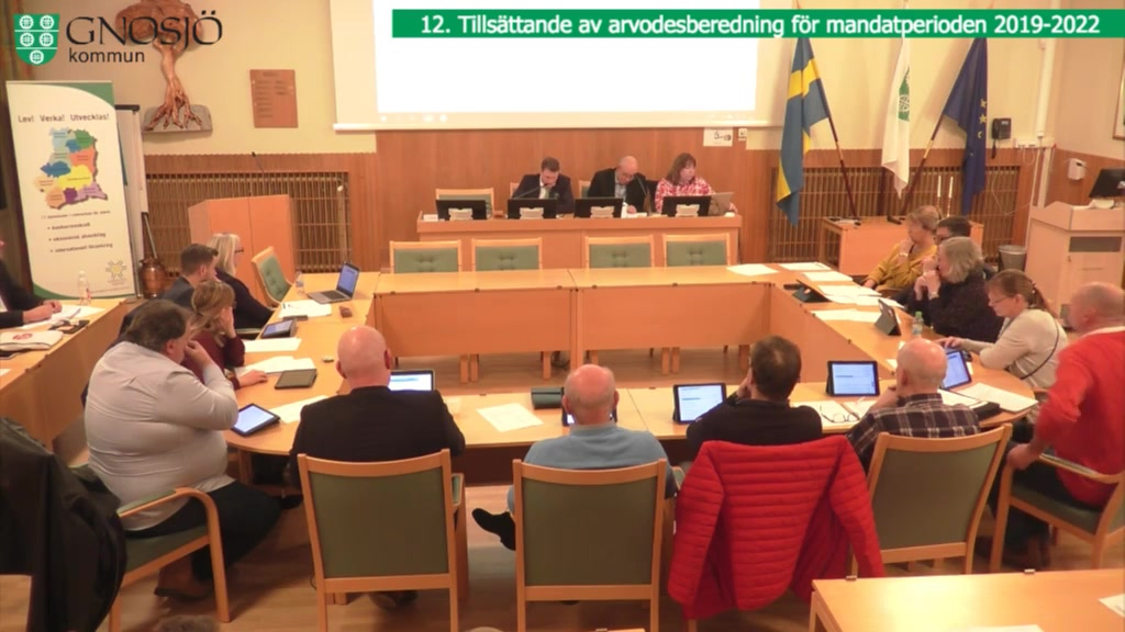 28 februari 2019 18:30  Gnosjö kommun Kommunfullmäktige - 28 Feb 18:25 - 19:28