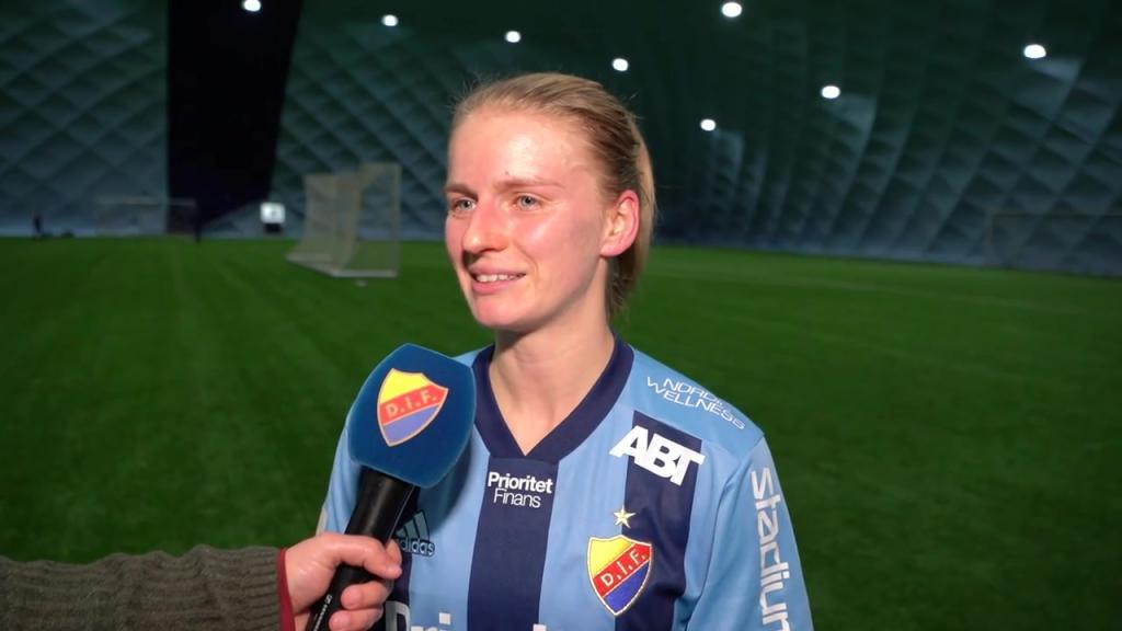 Amanda Kander klar för Djurgården