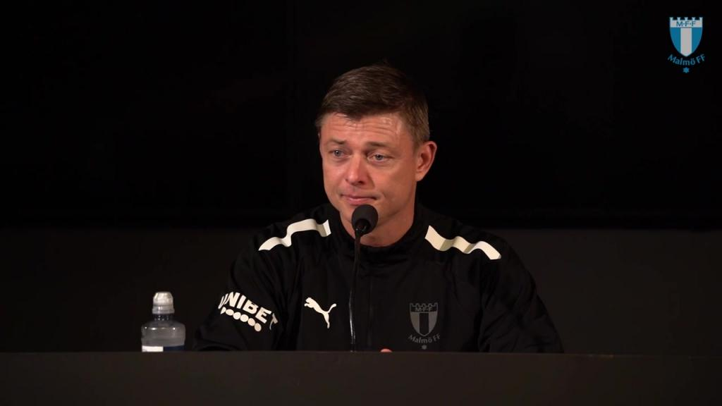 Presskonferens efter MFF – Mjällby AIF