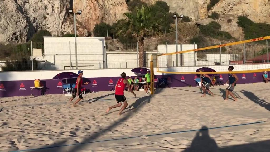 Kvartsfinaler i beachvolley