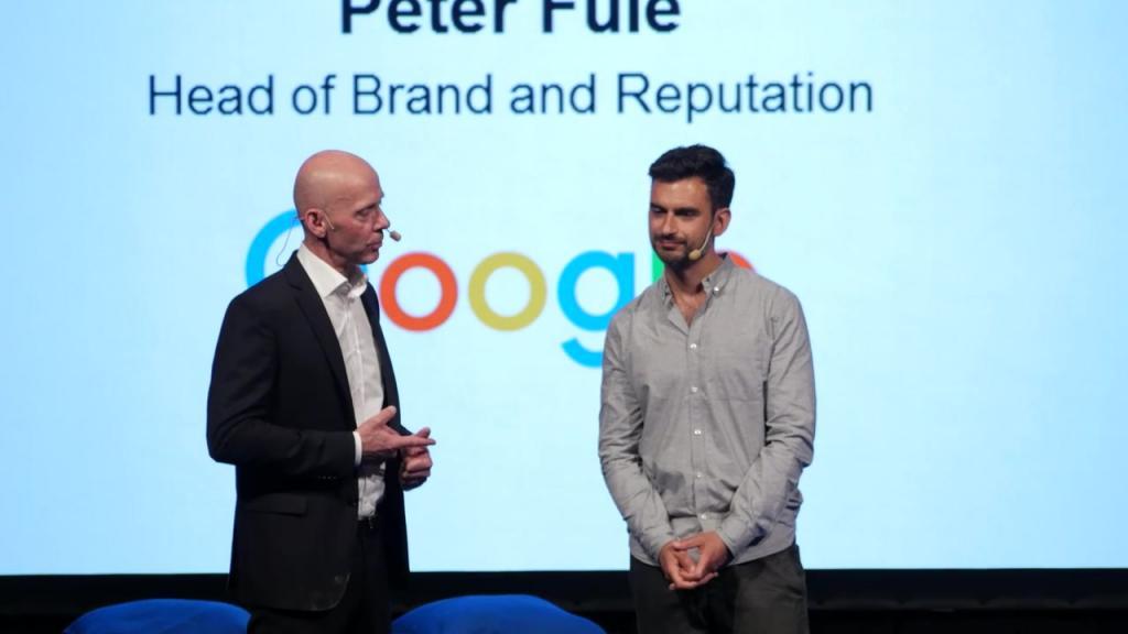 Ulrika Ek intervjuar Almi och Google