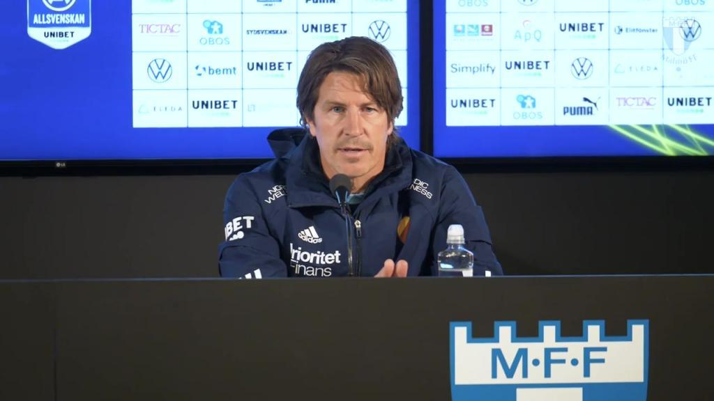 Presskonferensen efter 1-1 mot Malmö FF
