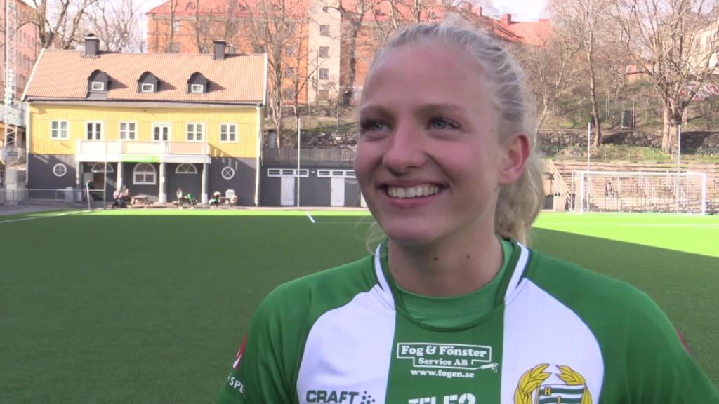 """Astrid efter premiärvinsten – """"Var bara att gå ut och njuta"""""""