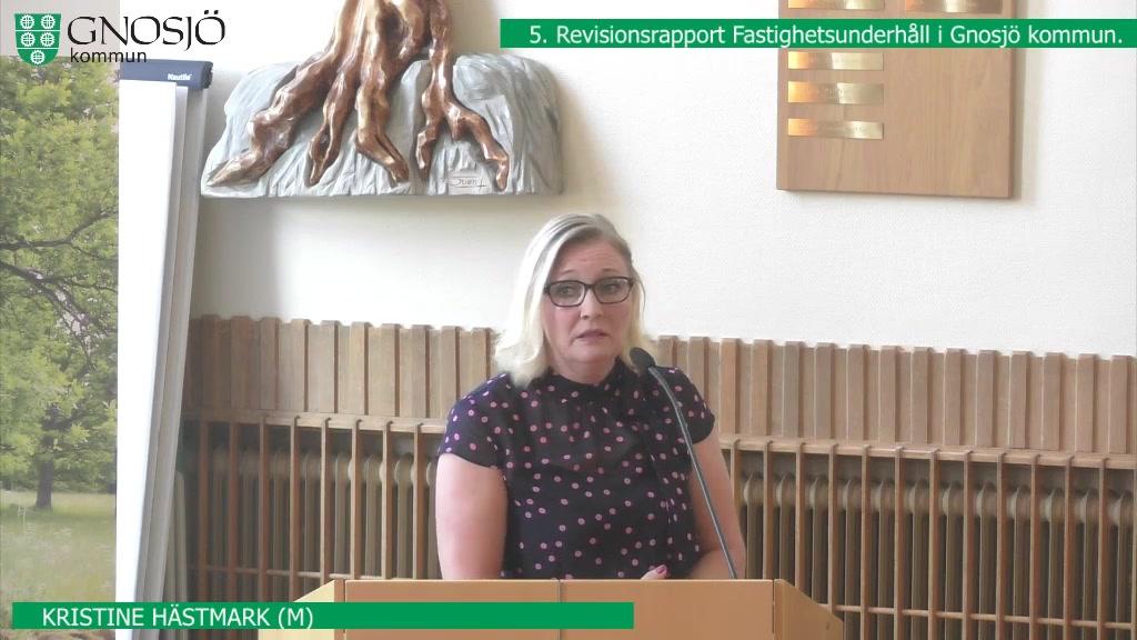 27 juni  2019 18:30  Gnosjö kommun Kommunfullmäktige - 27 Jun 18:25 - 19:03