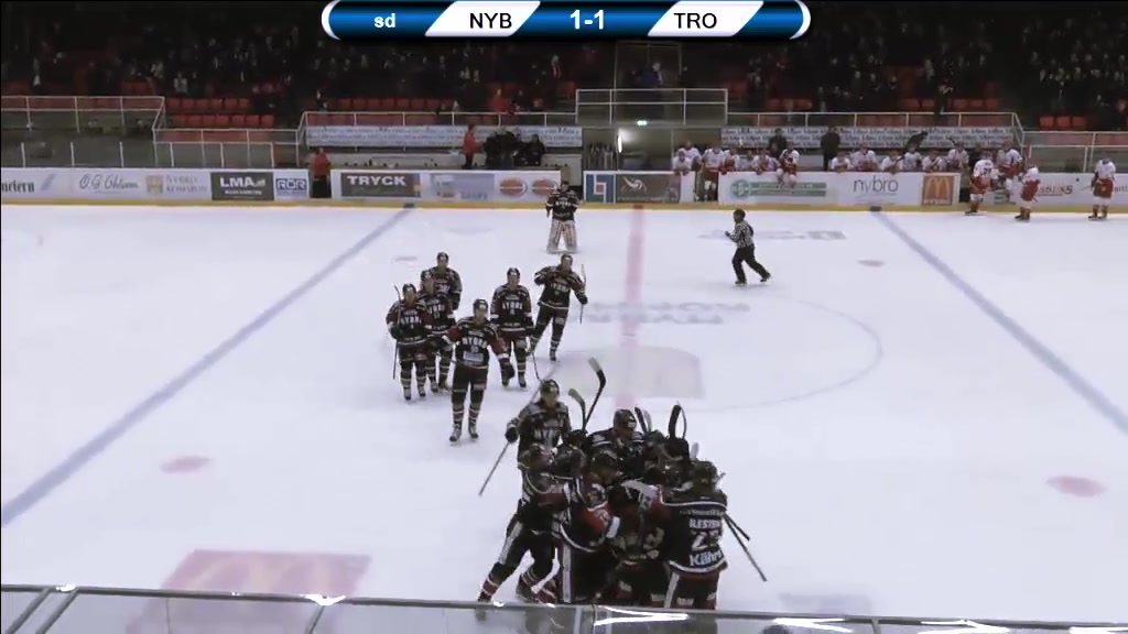 Vikings-TV: Nybro - Troja 2-1 (OT)