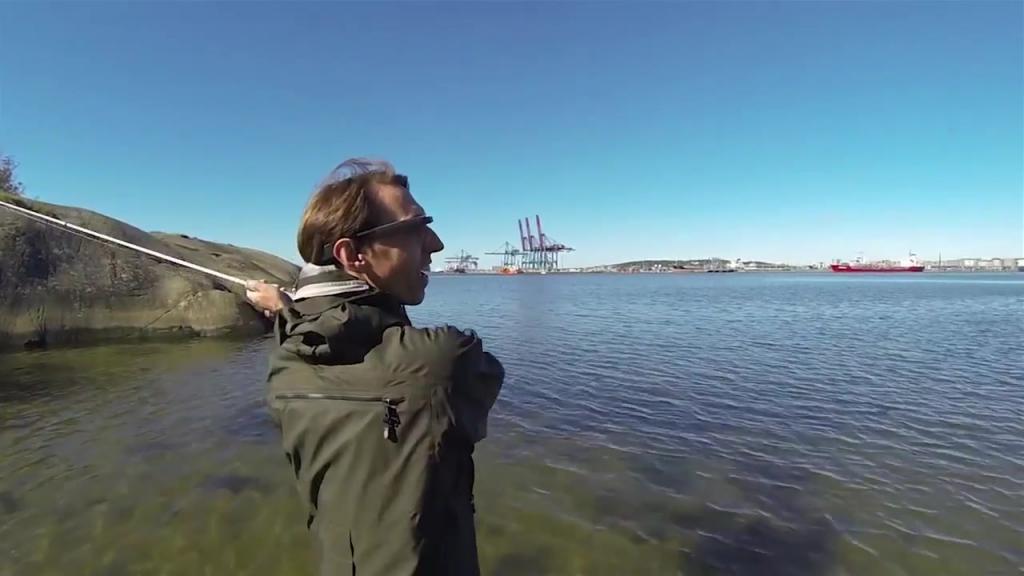 Världens första fiskeapp
