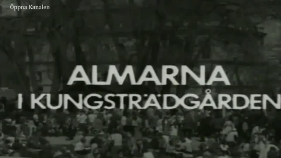 Almstriden, del 1. Gamla Stockholm. Veteranbilar