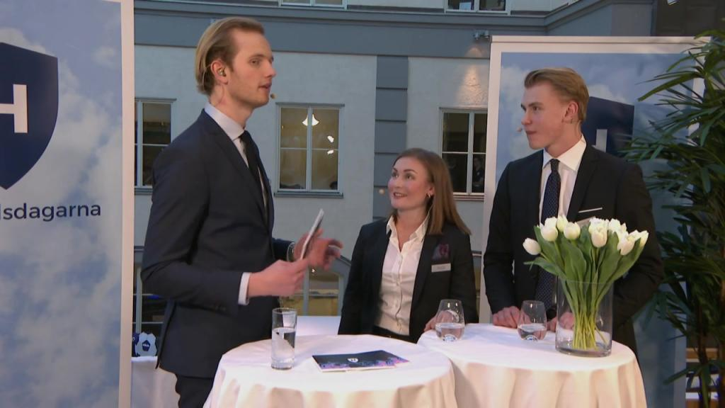 Interview with the President and Vice-President of Handelsdagarna 2018