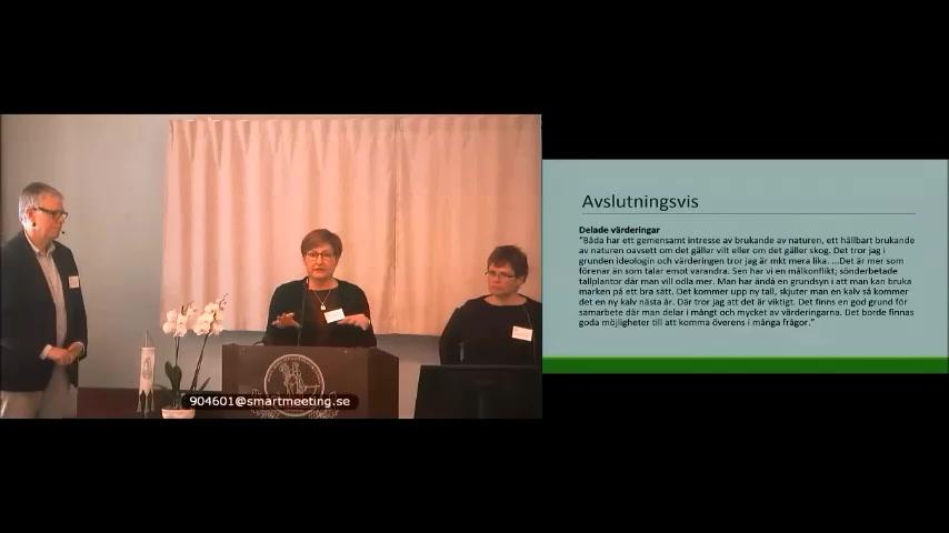 Viltförvaltningen – dags för gemensamt ansvar 21/11 Del 1