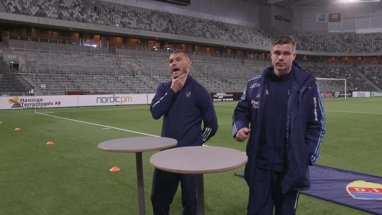 Presskonferens med PK Bråtveit och Jesper Karlström