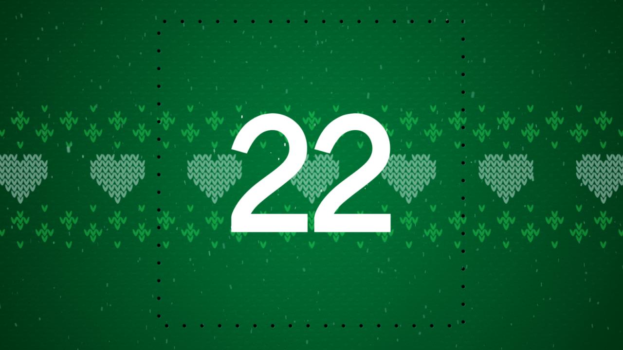 Julkalendern 2020 - Lucka 22