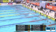 3 100m Medley Herrar A-Final SM/JSM 25m 2015