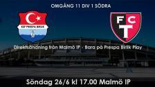 KSF Prespa Birlik - FC Trollhättan