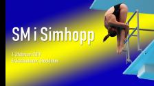 SM i simhopp, Försök & synchrofinal, förmiddag 3 februari -19