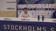 Presskonferensen efter Djurgården - Elfsborg