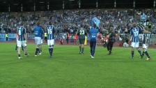 Segerglädje efter DIF-IFK Göteborg