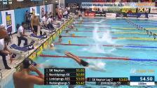 34 4X50m Medley Herrar Sr Heat 3 SM/JSM 25m 2015
