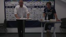 Presskonferensen efter Halmstad - Djurgården