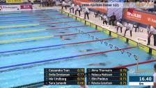 4 100m Fjärilsim Damer B-Final SM/JSM 25m 2015