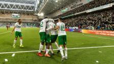 Höjdpunkter från segern över Östersund