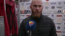 Magnus Eriksson efter förlusten i Degerfors